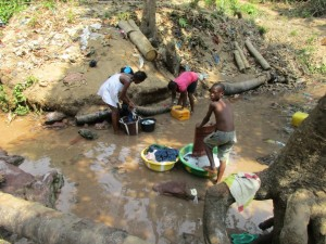 The Water Project : 11-sierraleone5086-washing-clothes