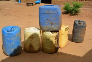 The Water Project : 12-kenya4465-water-containers