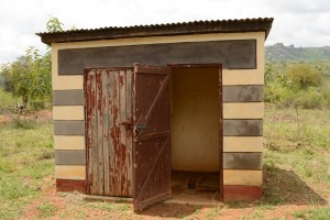 The Water Project : 12-kenya4501-teacher-latrines