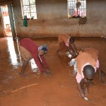 The Water Project : 12-kenya4502-cleaning