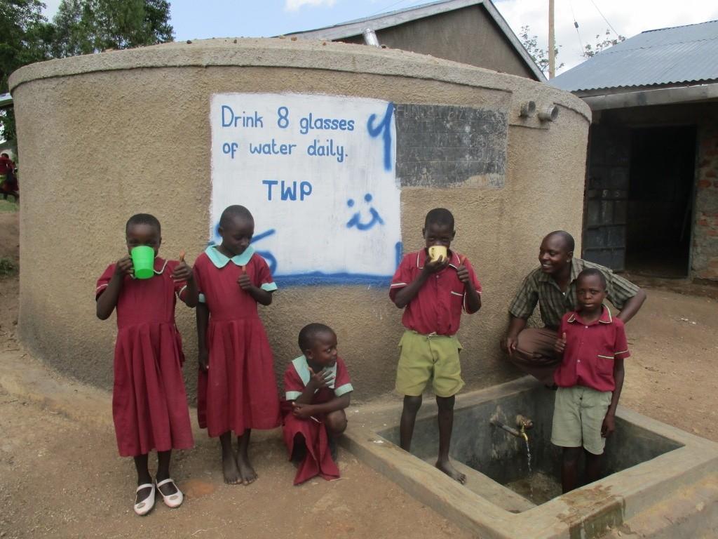 Photo of Eshivembe Primary School Rainwater Catchment Project