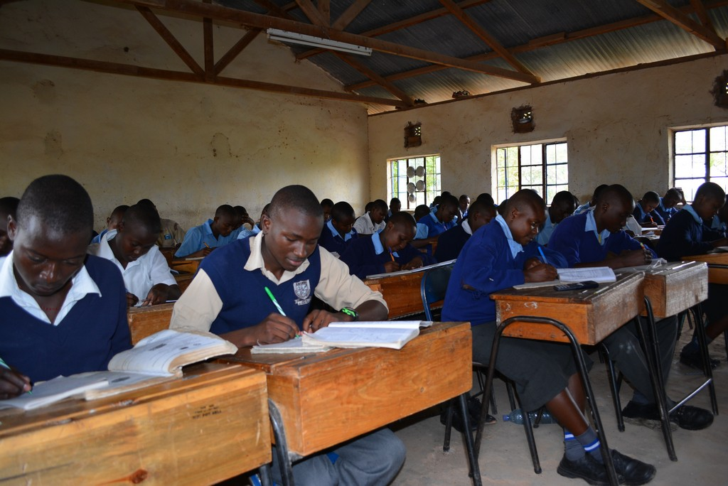 The Water Project : 13-kenya4501-students