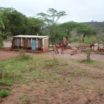 The Water Project: Maiani Primary School -  Boys Latrines
