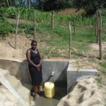 The Water Project: Alphonce Mukoshi Spring Protection Project -