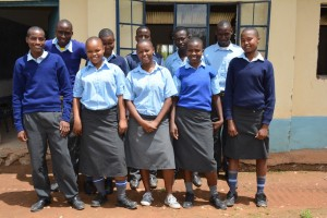 The Water Project : 15-kenya4501-students