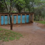 The Water Project: Maiani Primary School -  Girls Latrines