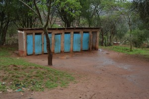 The Water Project : 15-kenya4502-girls-latrines