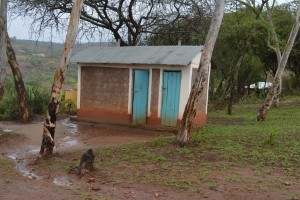 The Water Project : 16-kenya4502-teacher-latrines