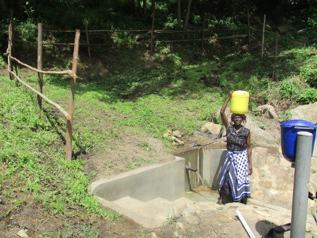 Photo of Emusioma Spring Protection Project