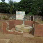 The Water Project: Ahmadiya Muslim Primary School Well Rehabilitation Project -