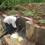 The Water Project : 22-kenya4567-protected-spring