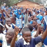 The Water Project : 23-kenya-4605-bible-distribution