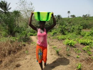 The Water Project : 3-sierraleone5084-carrying-water