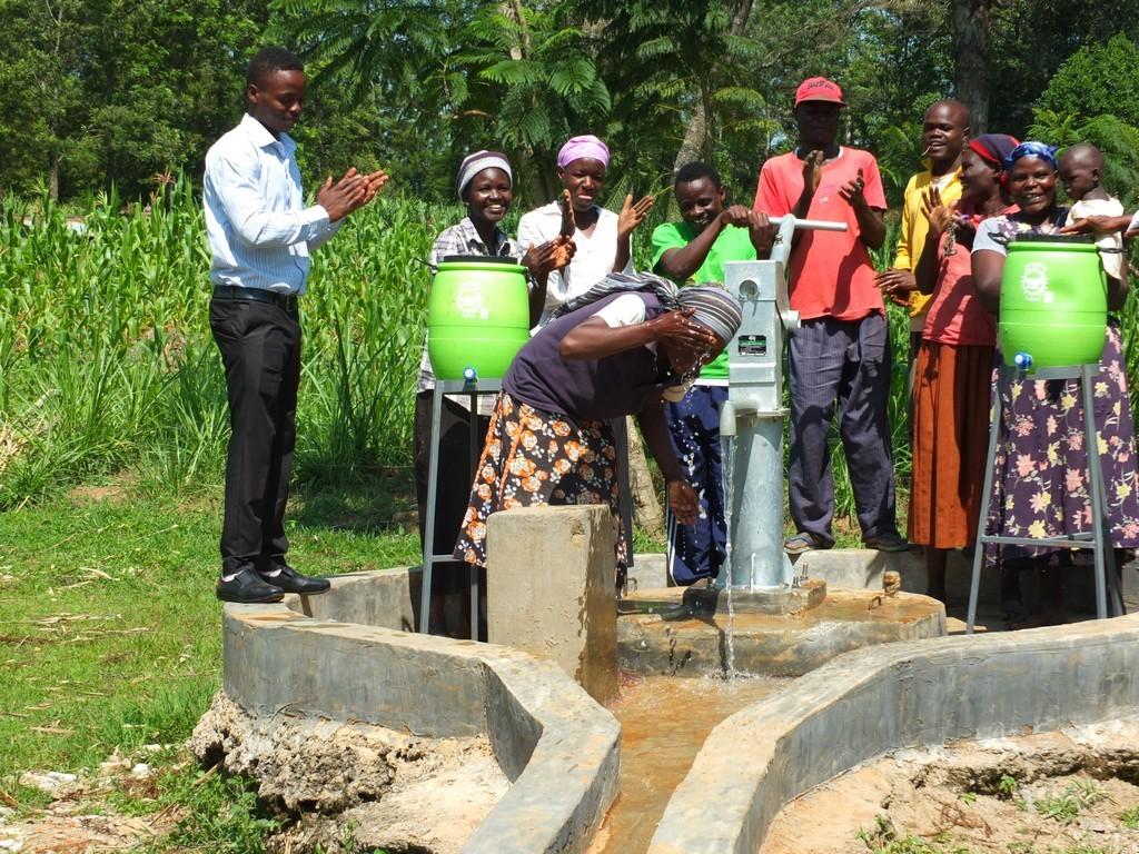 Photo of Matsakha B Well Rehabilitation Project