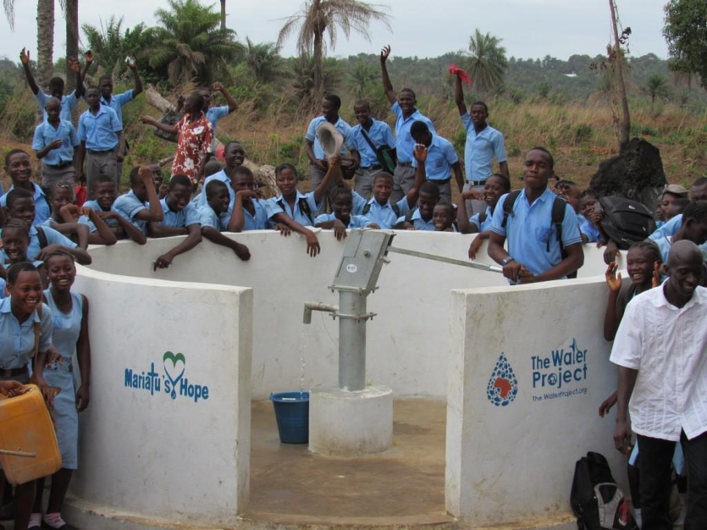 Photo of Sanaya Memorial Academy Secondary School New Well Project