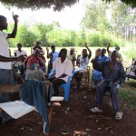 The Water Project: Emmuli Ebutuku Community, John Maganga Spring -