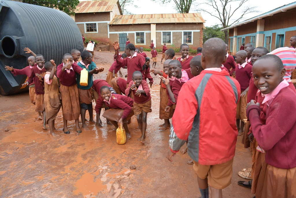 The Water Project : 7-kenya4502-students