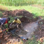 The Water Project : 8-kenya4567-spring-protection