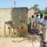 The Water Project: Ebwambwa Secondary School Rainwater Catchment Project -