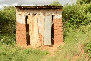 The Water Project : 9-kenya4465-latrine