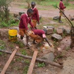The Water Project : 9-kenya4502-fetching-water