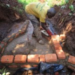 The Water Project: John Maganga Spring Protection Project -