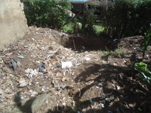 The Water Project : 9-kenya4615-garbage-pit