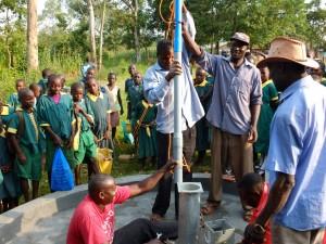 The Water Project : 1-kenya4532-pump-installation