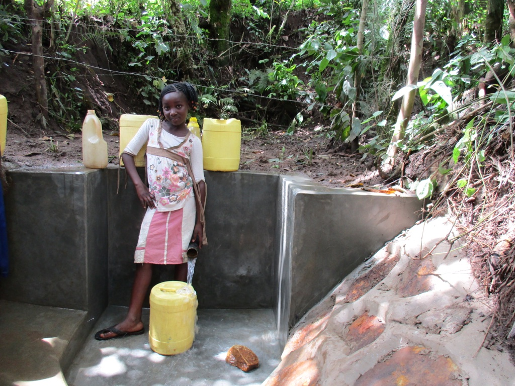 The Water Project : 14-kenya4570-protected-spring