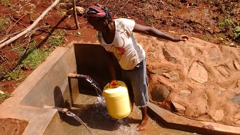 Photo of Walibese Spring Protection Project