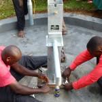 The Water Project : 2-kenya4532-pump-installation