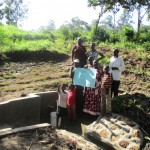 The Water Project: Mark Ashikuku Spring Protection Project -