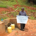 The Water Project: Walibese Spring Protection Project -