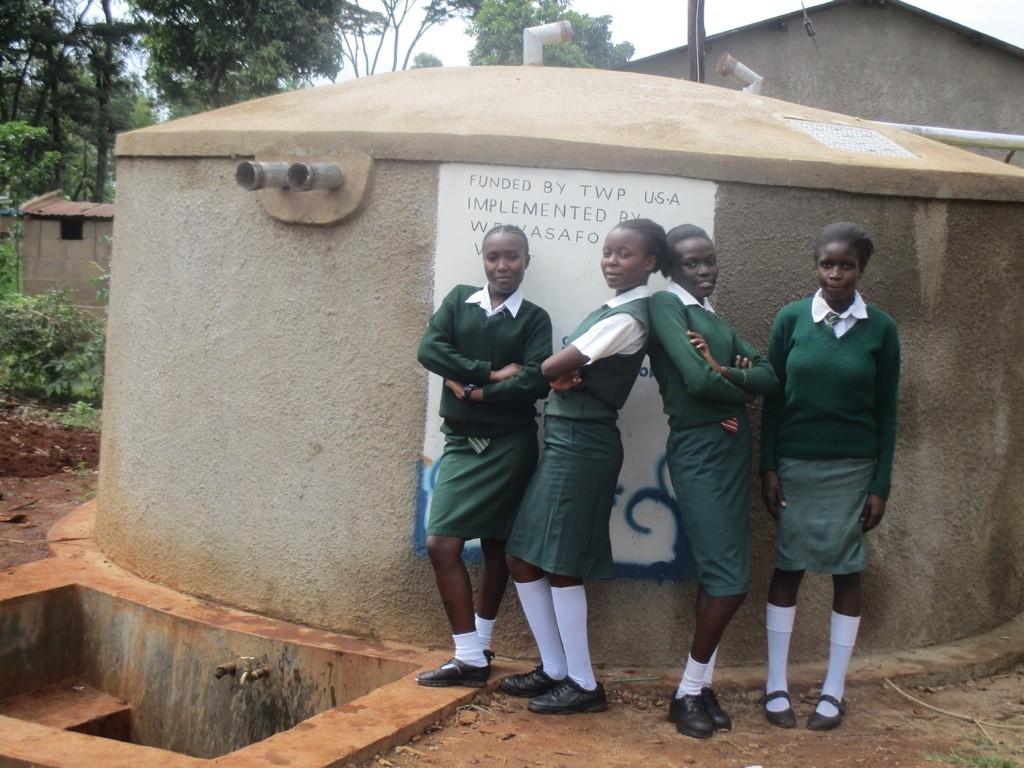 Photo of Chambiti Secondary School Rainwater Catchment Project