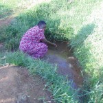 The Water Project : 3-kenya4574-fetching-water