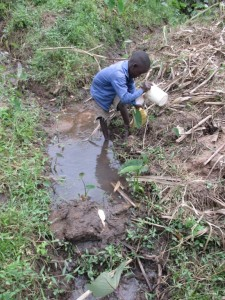 The Water Project : 3-kenya4576-unprotected-spring