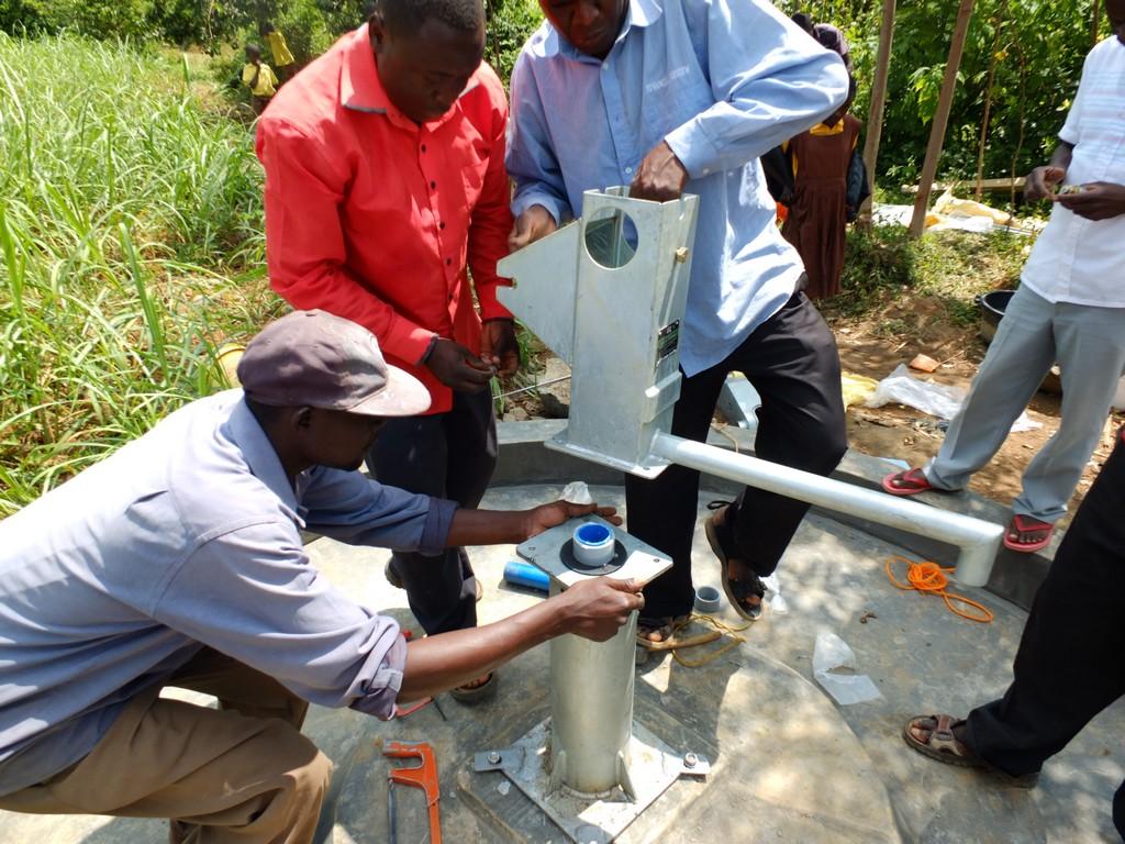 32 kenya4530 pump installation