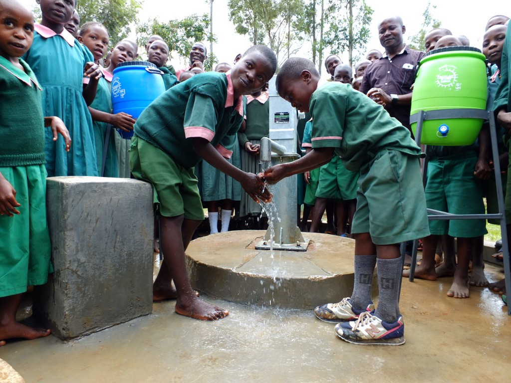 The Water Project : 42-kenya4531-handing-over
