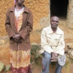 The Water Project : 8-kenya4576-saul-shivogo-and-wife
