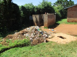 The Water Project : 9-kenya4621-garbage-pit