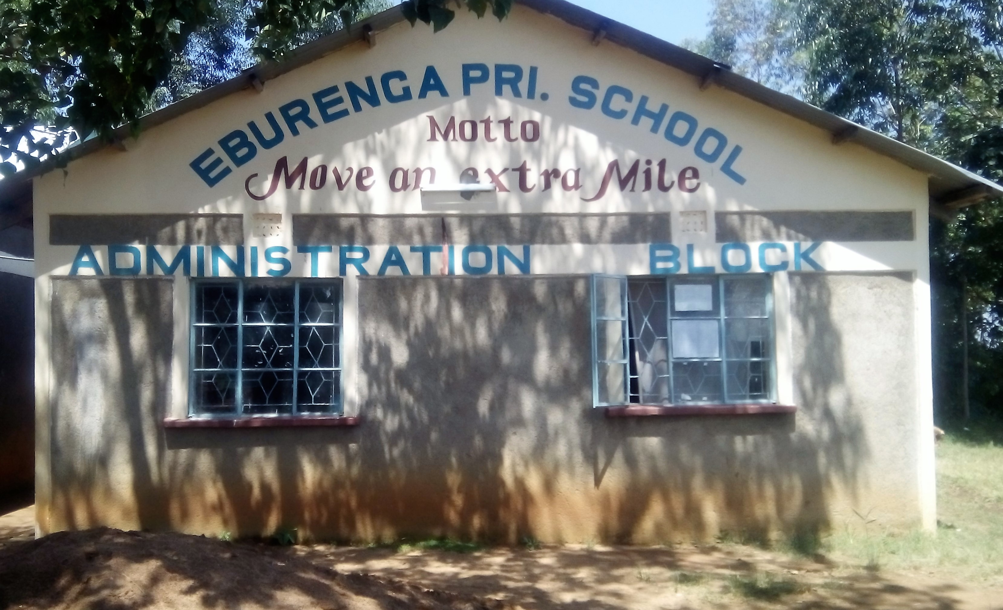 The Water Project : 1-kenya4625-school-entrance
