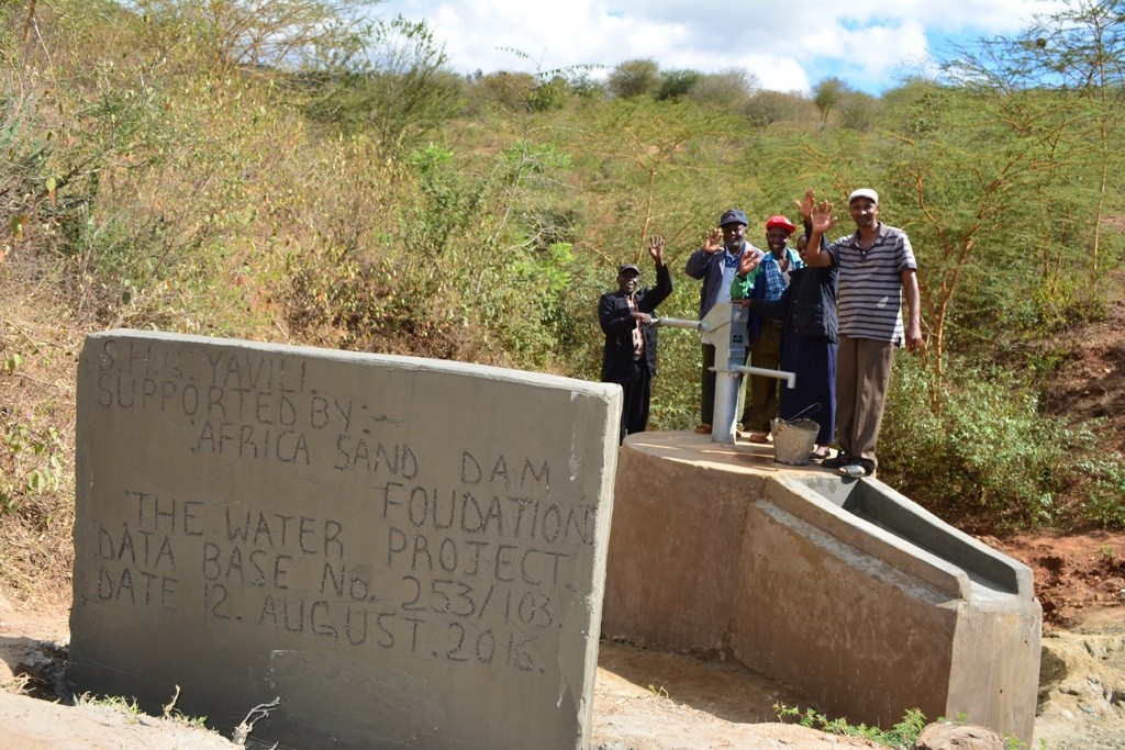 Photo of Yavili New Well Project
