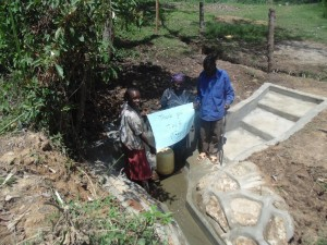 The Water Project : 12-kenya4573-protected-spring
