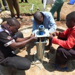 The Water Project : 14-kenya4369-pump-installation