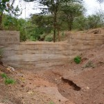 The Water Project : 14-kenya4463-finished-sand-dam