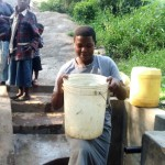 The Water Project: Mwibichiri Spring Protection Project -