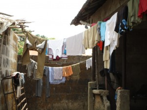 The Water Project : 16-sierraleone5082-clothesline