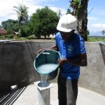 The Water Project: #28 Kamara Taylor Street New Well Project -