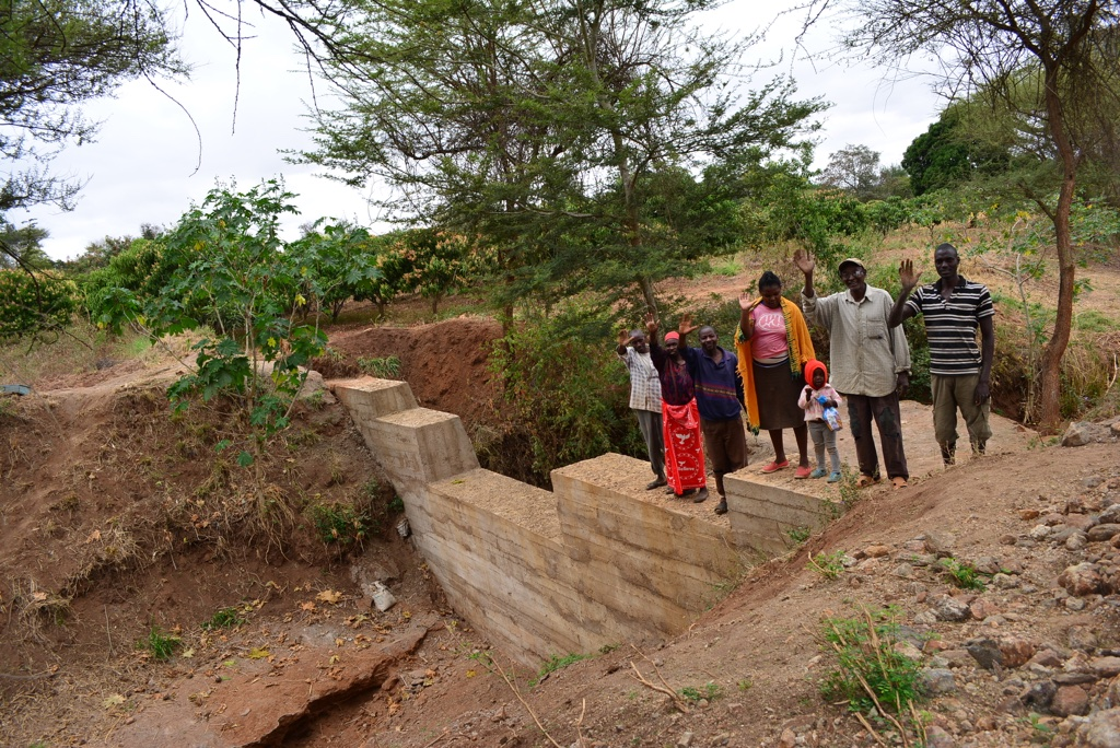 The Water Project : 19-kenya4463-finished-sand-dam