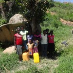 The Water Project: Felix Kisengo Spring -